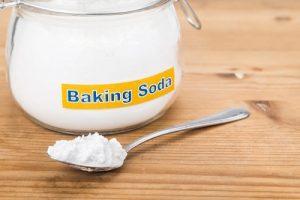 Thông tắc chậu rửa bát bằng baking soda