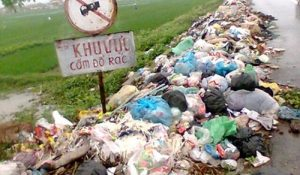 rác đúng nơi quy định
